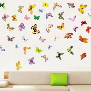 Motýli a ptáci